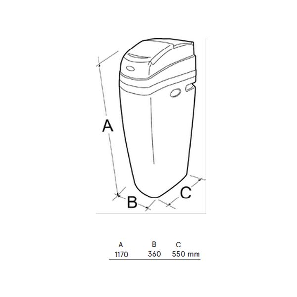 schéma adoucisseur eau AW30 eaulding
